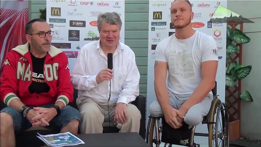 L'Open de Vendée 2018 : Premiers Interviews réalisés par Philippe Gourraud de TV3 Provinces